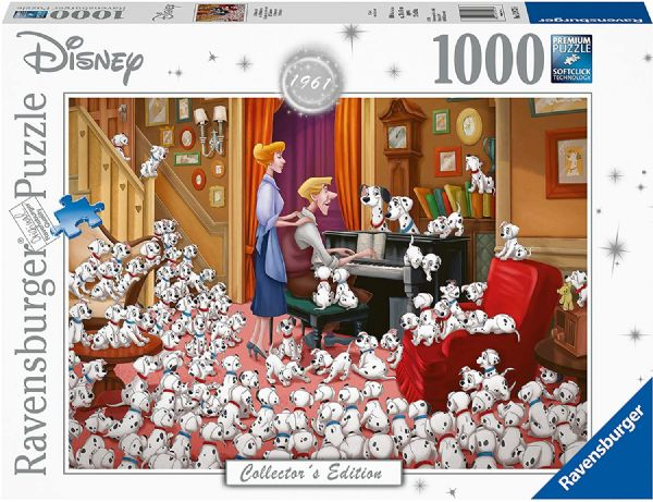 RAVENSBURGER 13973 Disney Collector's Edition 101 Dalmations 1000 Jigsaw